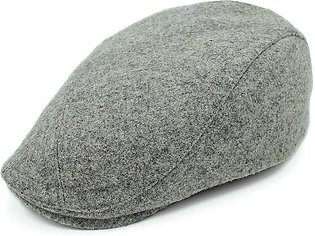 Outfly winter wool beret for men classic design men's flat cap warm head solid …