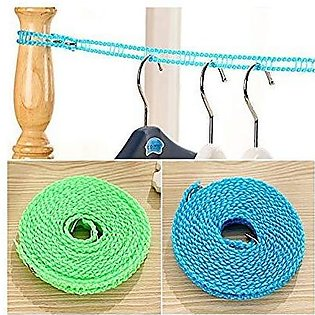 Nylon Hanging Rope Windproof Drying Rope Clothes Hangers Plastic 5M Non slip Ny…