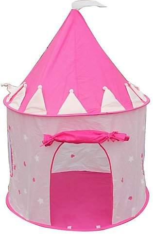 Children'S Castle Yurt Game Tent Foldable Indoor Game House Princess Tent
