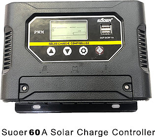SUOER 50A  Intelligent Solar Charge controller