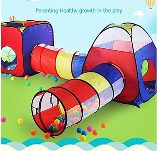 Tent Toy Baby Ocean Ball Game Play House Pipeline Crawling Tunnel Toy Foldable …