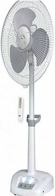SMT Rechargeable Fan with Remote - 220V - White