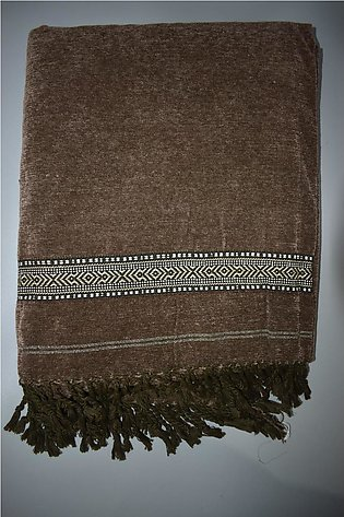 Simple & Decent Design Pure Velvet China Shawl For Gents - Winter Collection ...