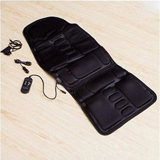 TO Car Chair Home Seat Heat Cushion Back Neck Waist Body Electric Multifunctional Chair Massage Pad Back Massager