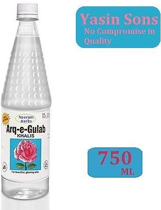 Rose Water - Pure - 750 Ml Bottle