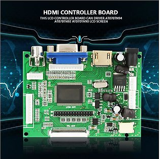 HDMI + VGA + AV LCD Controller Board AT070TN92 AT070TN90 AT070TN94 50Pin 800 ...