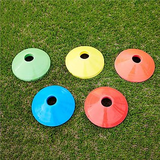 Soccer Cones 6 Pack, Sport Agility Training Disc Cone for Football Basketball, …