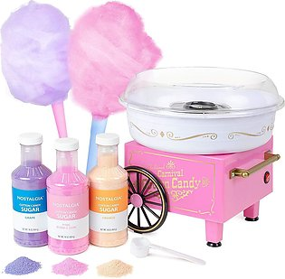 220V Mini Electric Cotton Candy Machine Home Candy Maker For Party