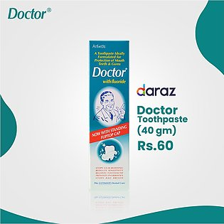 Doctor Toothpaste With Fluoride