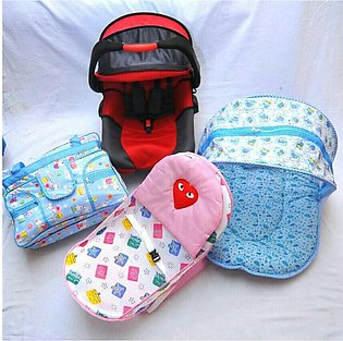Baby carry cot bather net bad pamper bag