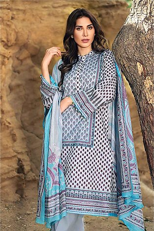 """""""GUL Ahmed-Summer Special Edition 2019 Grey Lawn-3PC Unstitched-CL-606 A-208321"""""""