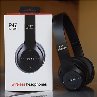 P47 Wireless And Bluetooth Headphones