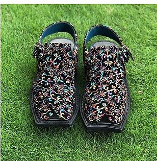 Best Embroidery Peshawari Chappal for Men's