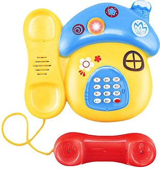 Baby Toys Sound Light Early Childhood 0-12 Months Cartoon Mushrooms Telephone...
