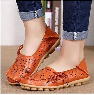 Factory wholesale sandals summer shoes hole flat leather shoes casual girls aged Doug Mama shoes code ORANGE