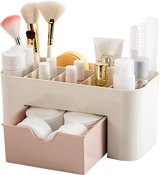 Makeup Organizer, Saving Space Desktop Cosmetics Makeup Storage Drawer (Box Typ…