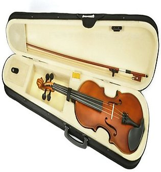Violin Bark Wooden 4/4 with Hard case