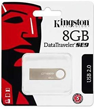 8 Gb Kingston Metal Usb