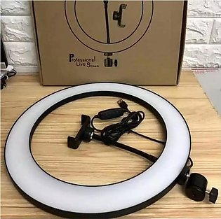 10inch / 26cm selfie Ring Light Dimmable LED Ring Fill Light With Mobile holder…