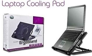 NEW Adjustable Universal Laptop Cooling Pad M25 - Black