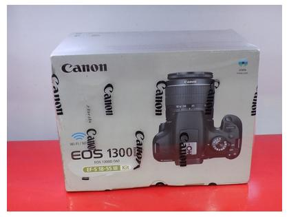 Canon 1300D New Box Pack Body With Lens 18-55