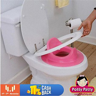 Baby Toilet Seat Best Easily Fit at Commode - Multicolour