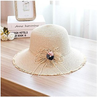 Hats For Women Sun Hat Ladies Hat Straw Hat Straw Hat Woman Summer Big Eaves Be…