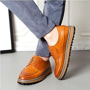 MissFortune British Vintage Leather Shoes Men Outdoor Casual Summer Shoes Solid Shoes