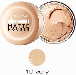 Maybelline Dream Matte Mousse Foundation - 010 Iivory