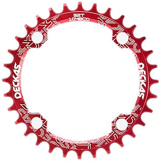 2x Deckas 104BCD Oval Narrow Wide Chainring MTB Mountain Bike Bicycle 32T Crank…