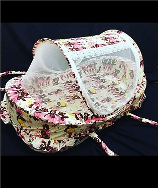 Beautiful Ship Design Baby folding Bad With Mosquito net