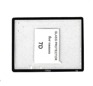 Fotga Premium LC.D Screen Panel Protector Glass For Canon Eos 7D