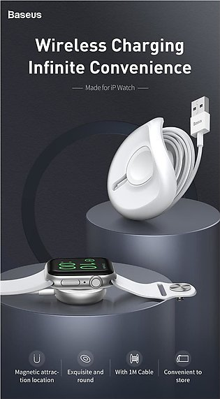 Baseus yo-yo Wireless Charger for Apple Watch Charger Wireless Charging Pad Wit…