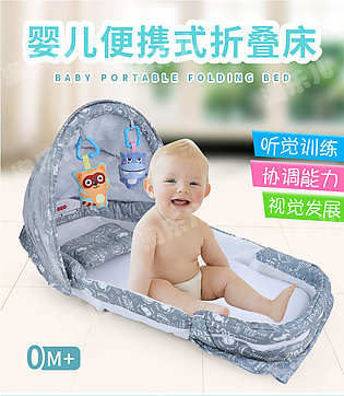 Baby Nest Bed Crib Portable Removable And Washable Crib Travel Bed For Children