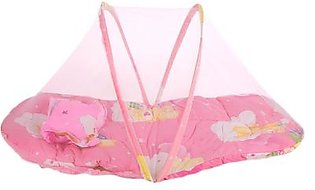 Newborn Mosquito Net Infant Mosquito Net Creative 2 Colors Portable Cotton-Padded Mattress Insect