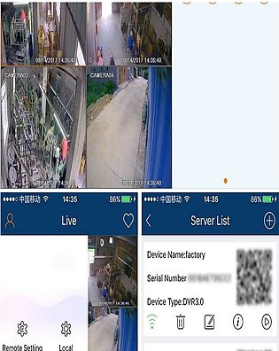 4 Security Cameras and Video Dvr Surveillance Systems