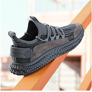 Men's Casual Sneakers Adult Fashionable All-match Breathable Mesh Shoes Low-Top…