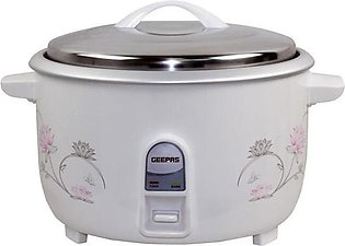 Geepas - GRC - 4322 Electric Rice Cooker - 8 Liters - White ( Brand Warranty)