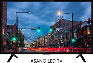 Asano 40 Inch Smart LED TV - Smart FHD LED Tv - 40 inches - 1920x1080 - Black