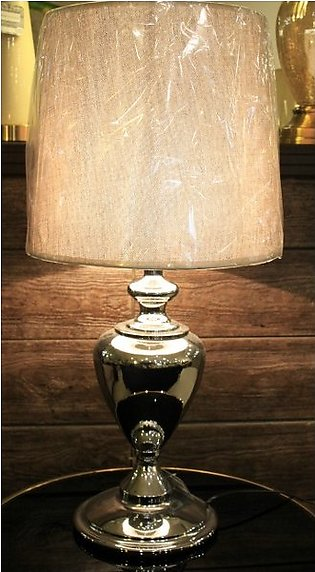 Krater Silver Table Lamp