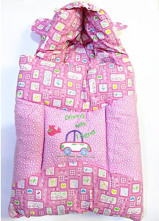 Baby Sleeping Bag For Born Baby In Pink