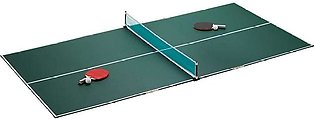 Complete Set of Table Tennis with Foldable Table, Rackets, Net and balls