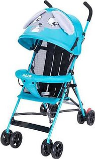 New Summer Baby Stroller Ultra Light Cartoon Baby Car With Shock Absorber Simple Children's Trolley