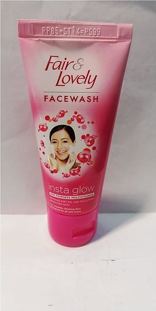 Fair Lovely Face Wash Insta Glow - 50g