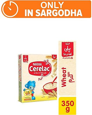 Nestle CERELAC Wheat 350g - Baby Food (One day delivery in Sargodha)