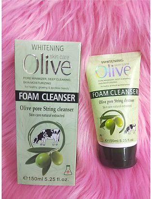 Olive Whitening Skin Care Foam Cleanser