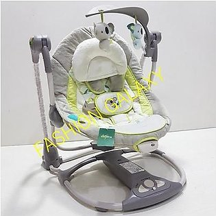 Imported Baby Bouncer & Convert-Me Swing-2-Seat With Bar Toys
