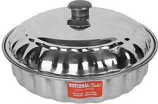Stainless Steel Roti Box Lid Style Chand Riko