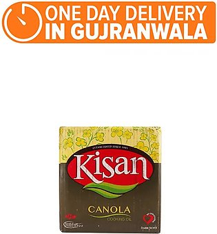Kisan Canola Oil (Pack of 5)  (One day delivery in Gujranwala)