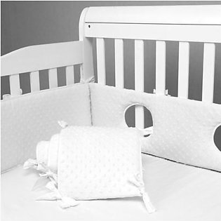 Topsky Crib Bed Surrounding Children'S Bed Guardrail Anti-Collision Cotton Breathable Creative Spring Color Four Seasons Universal